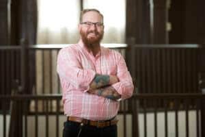 The Center of Harmony Opera Hall Owner, Josh Meeder, Great Things LLC