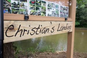 Christian's Landing, New kayak launch in Fombell, PA