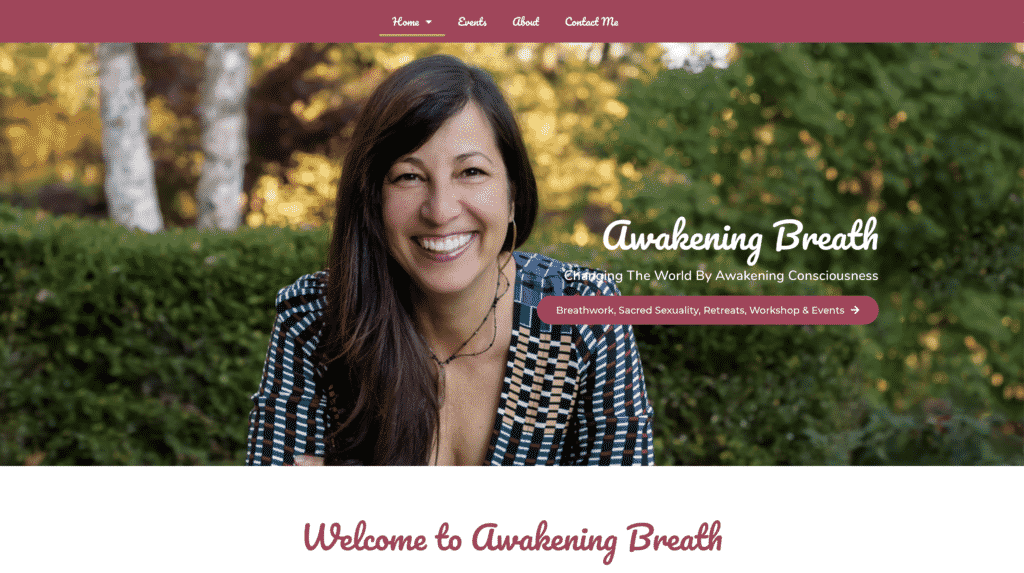 AwakeningBreath.com another website by Great Things LLC