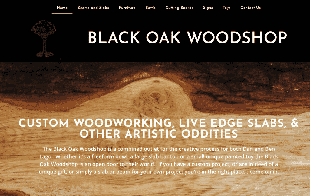 Blackoakworkshop.com another site by Great Things LLC