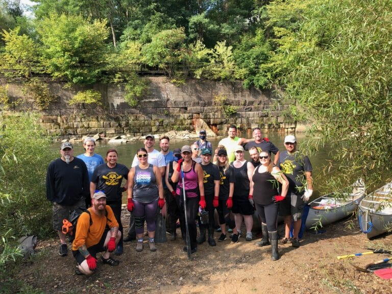 9th Annual Connoquenessing Creek Clean up with Allegheny Aquatic Alliance