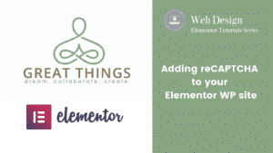 Adding reCAPTCHA to an Elementor Contact form in WordPress