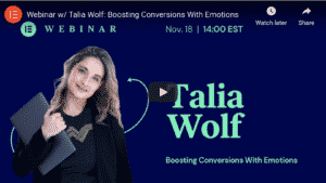 Talia Wolf, Emotional Selling