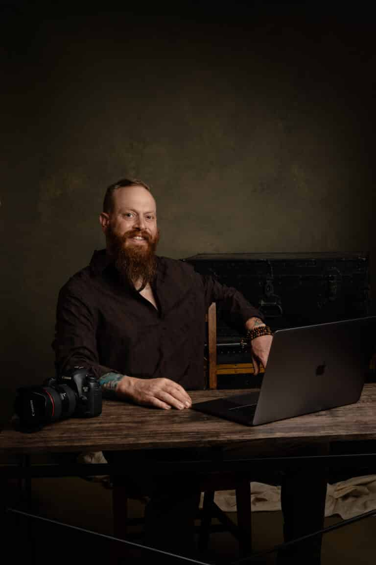 Josh Meeder camera and table, Great Things LLC, Photo: Michael Cannon Photography
