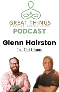 Glenn Hairston on Great Things LLC Podcast IG Story
