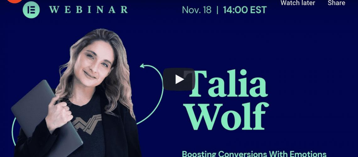 Talia Wolf, Emotional Selling